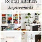 rental kitchen collage