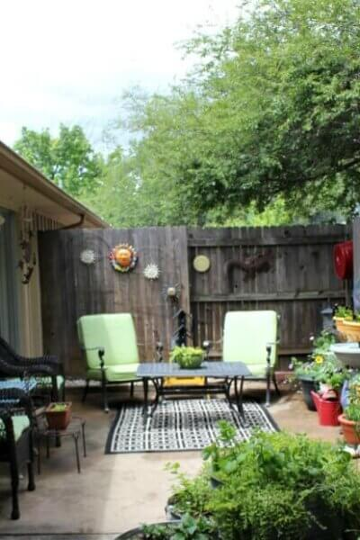 Hardscaping In Small Space Garden Design