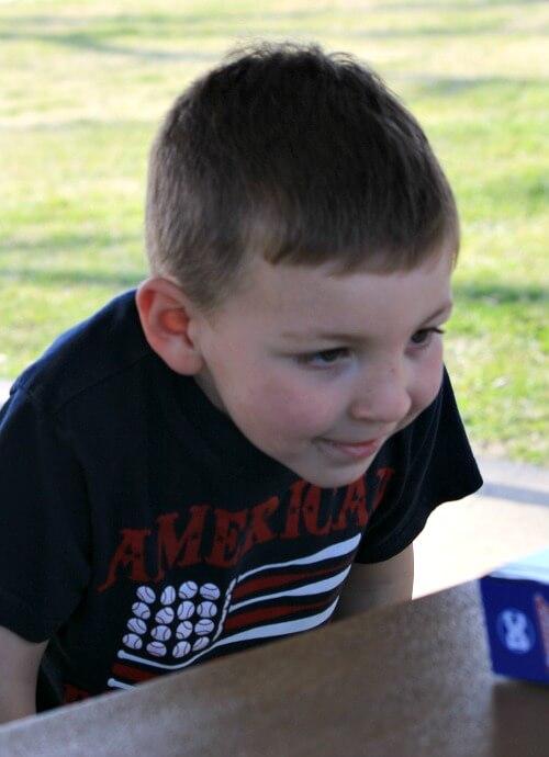 my grandson Andrew