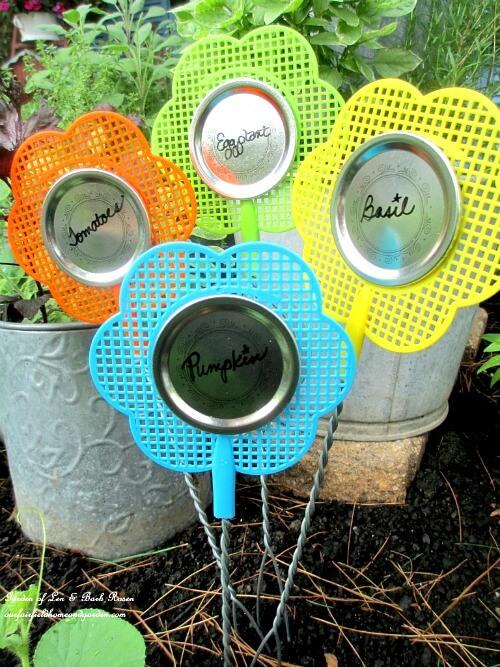 Easy & Inventive Garden Markers