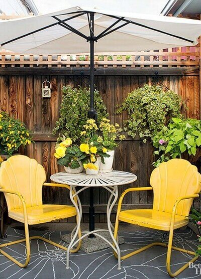 How To Create A Cozy Patio Space