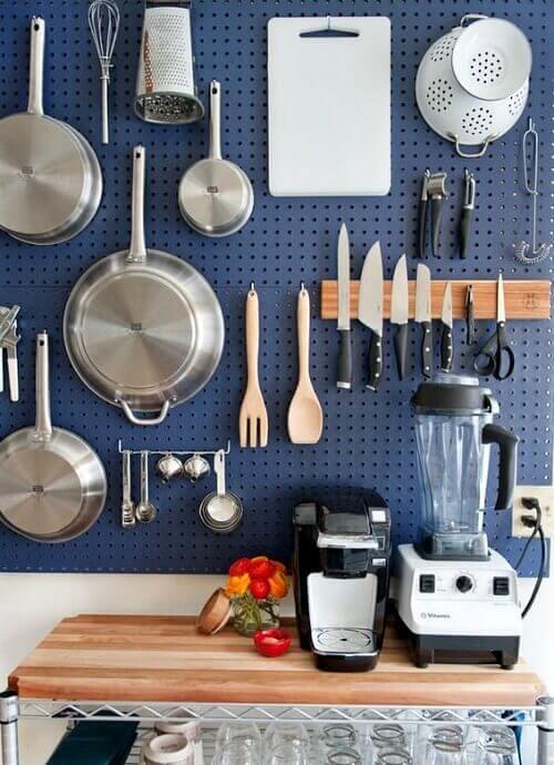 kitchen peg board