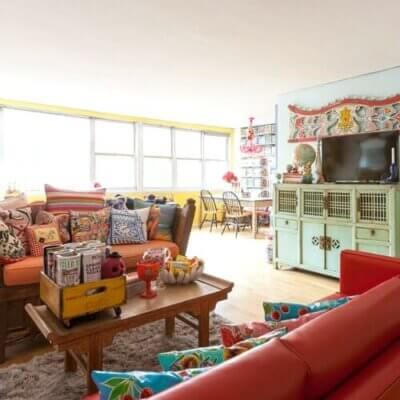 Fun & Colorful NYC Apartment