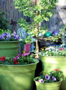 Garden Art In The Garden