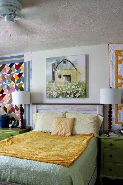 My Farmhouse Themed Bedroom