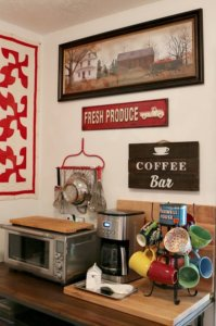 How I Created A Little Coffee Bar