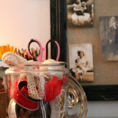 How To Organize Craft Supplies In A Small Space