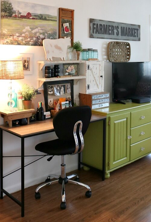 How To Create A Small Home Office Nook