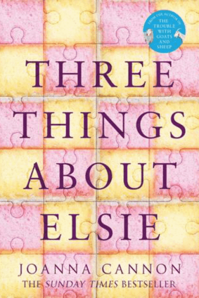 "Book ""Three Things About Elsie"""