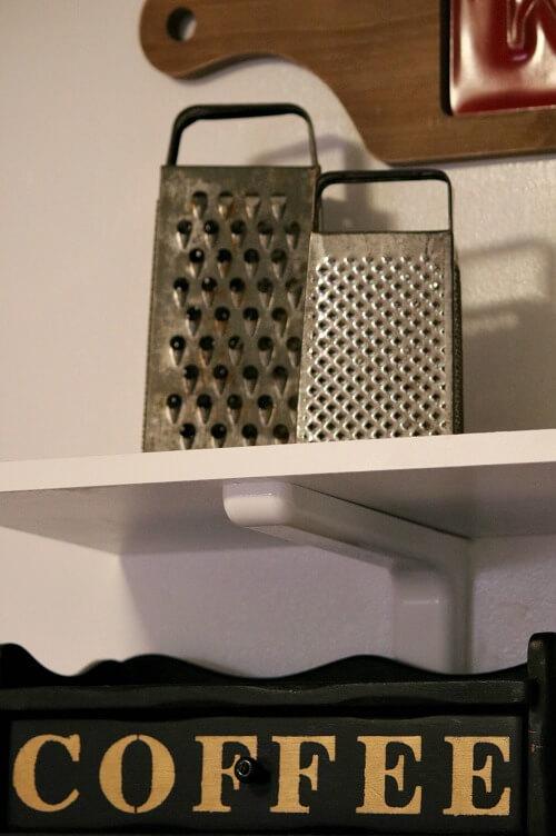 my kitchen shelves