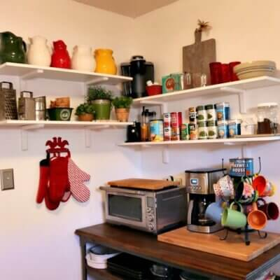 The Kitchen Wall Shelves