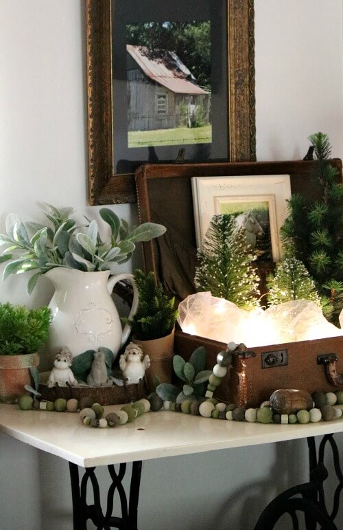 winter vignette