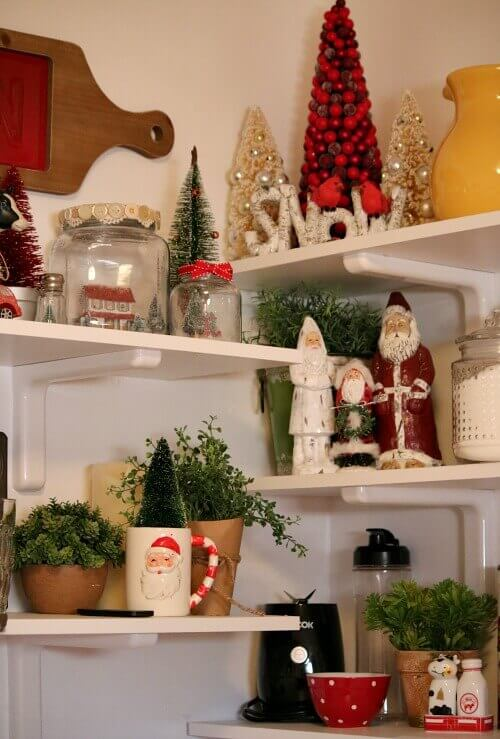 Small Space Christmas Decorating