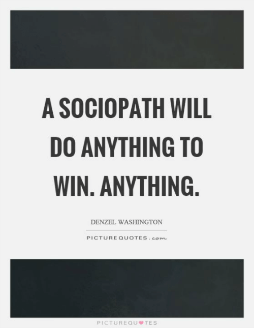 quote about sociopaths