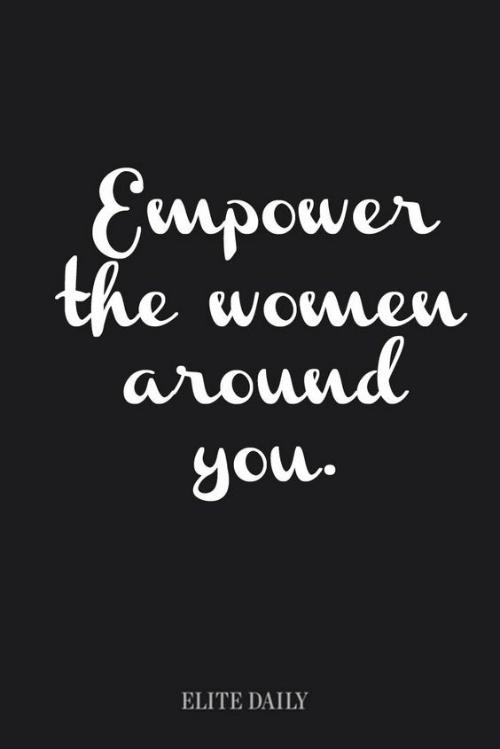 women helping women quote