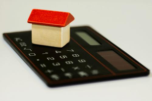 tiny house on calculator