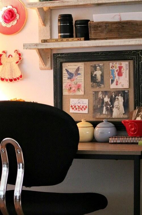 lliving room office/craft space