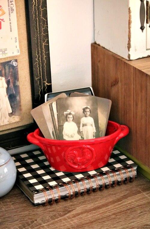 vintage girls vignette