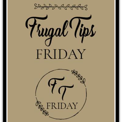Frugal Tips Friday#7: Frugal Craft & DIY Ideas