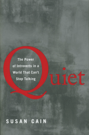 Quiet, a book by Susan Cain, the front cover