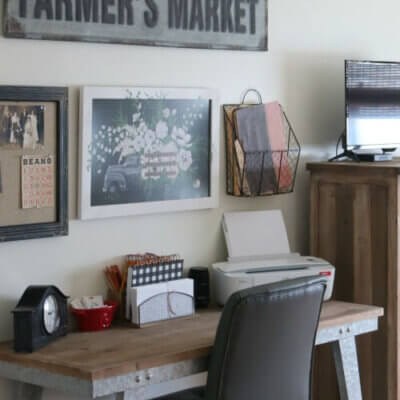 Desk & Craft Supply Storage
