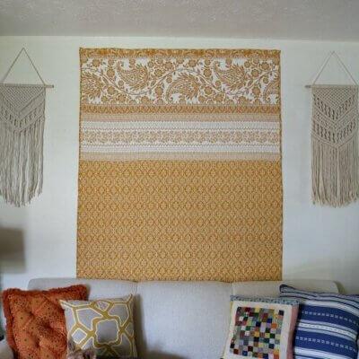 Boho Living Room Changes