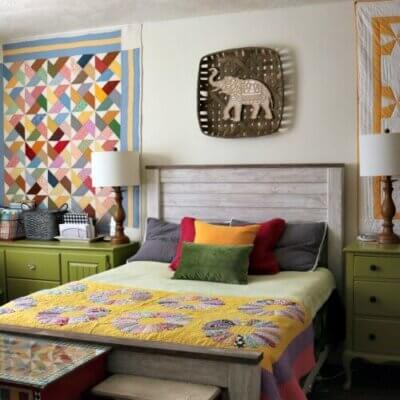 Bright Colors In The Bedroom