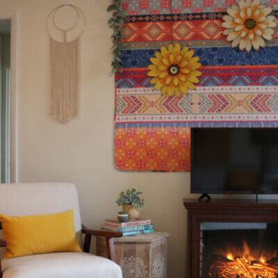 Decorating: Boho Wall Redo & A Song