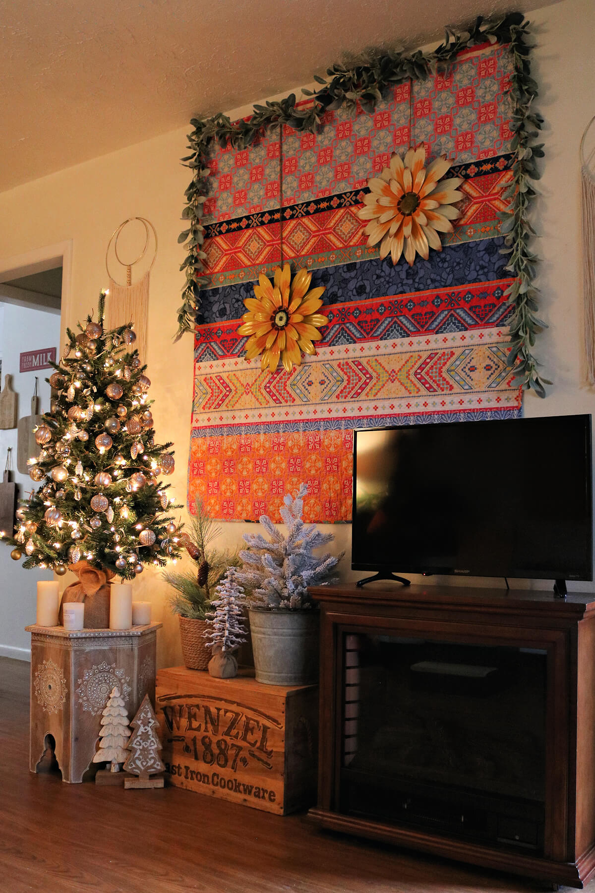 Improving The Look Of A Christmas Tree Close To A TV