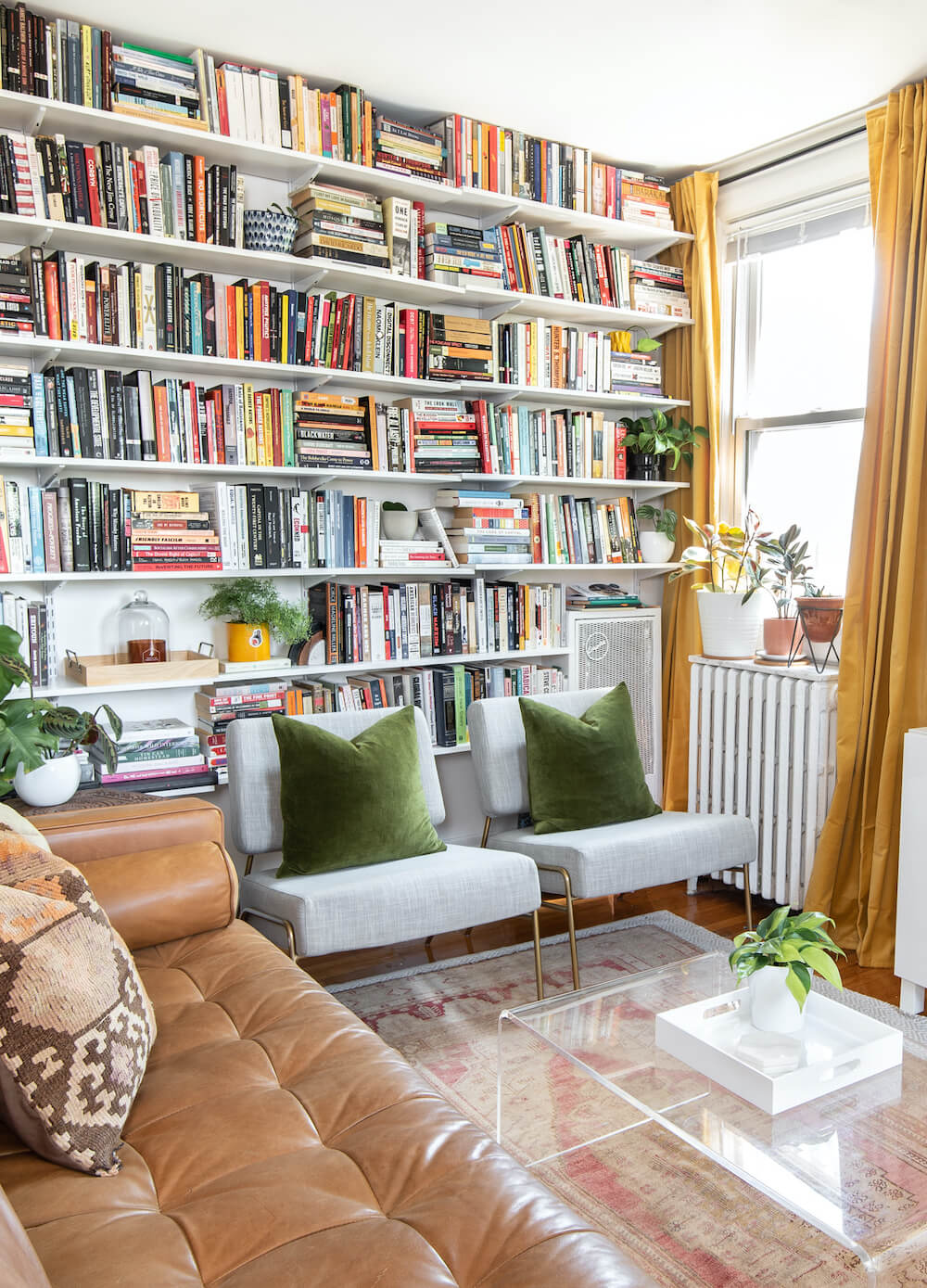 Small DC Apartment Tour With A Focus On Books