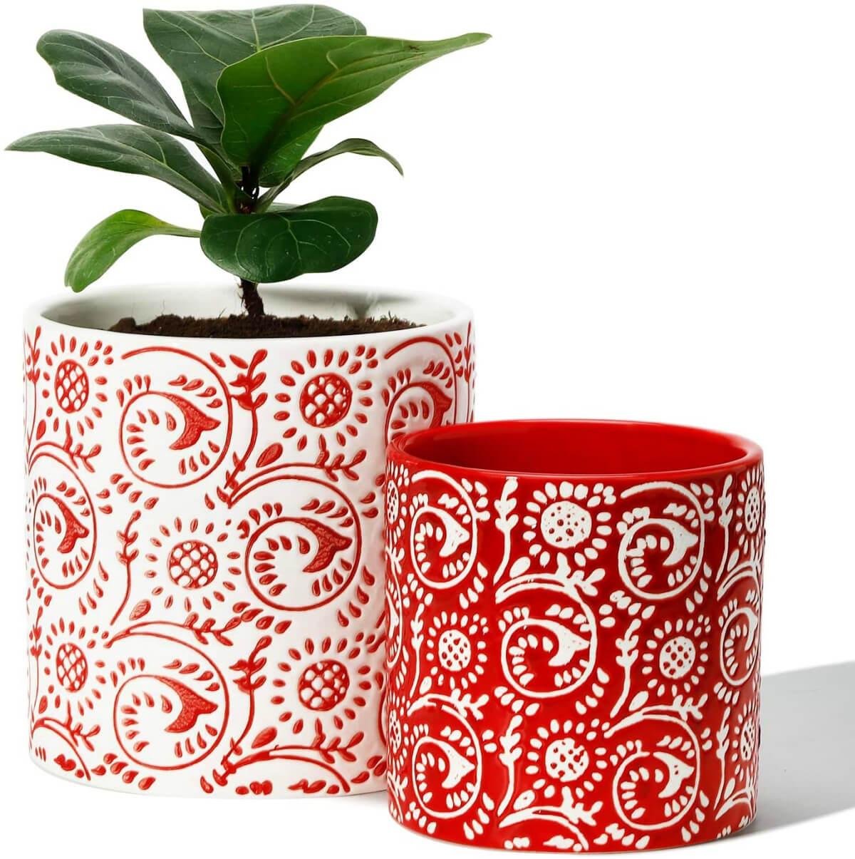 My Favorite Plant Pot Sets Under $30 At Amazon