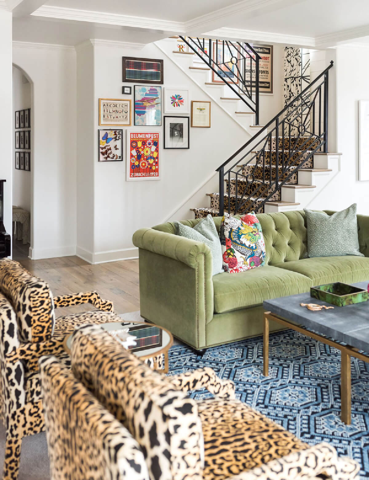 Bold Tulsa Home Full Of Pattern & Color