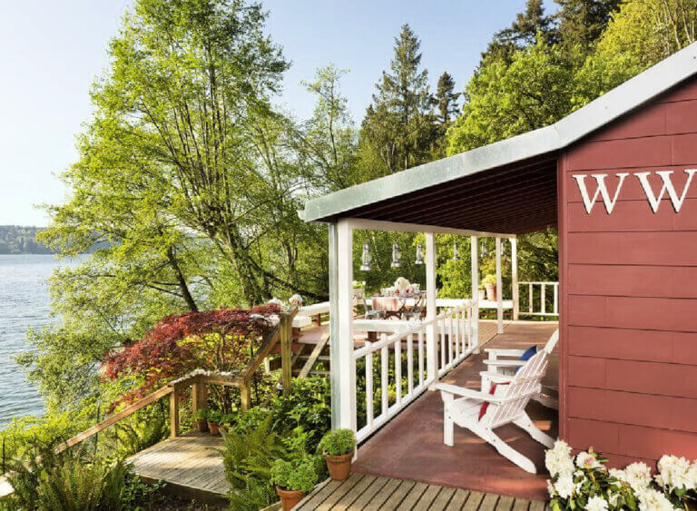 Puget Sound Home Perfect For Summer Living