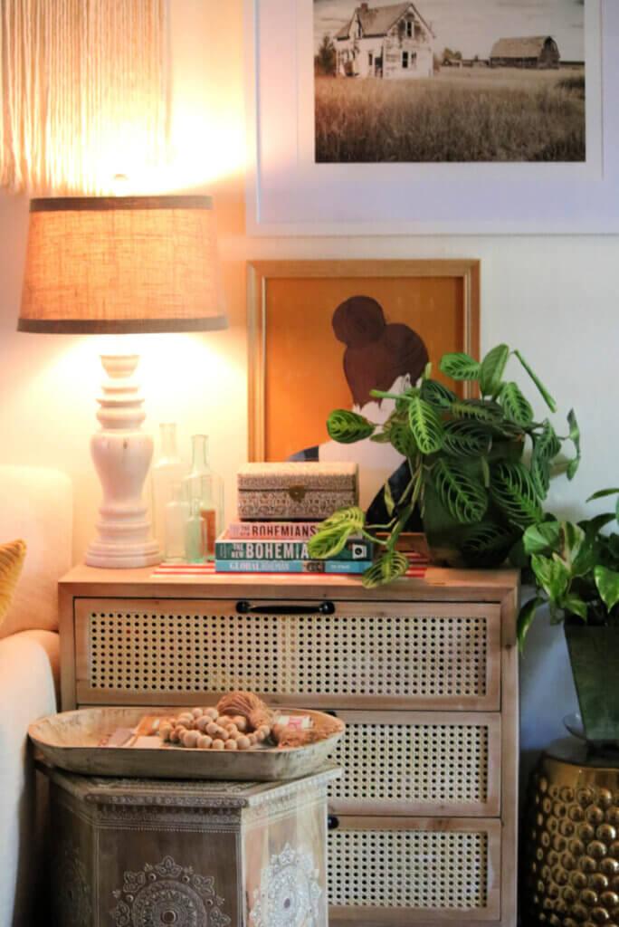 Tuesday Morning Find: Boho Style Credenza