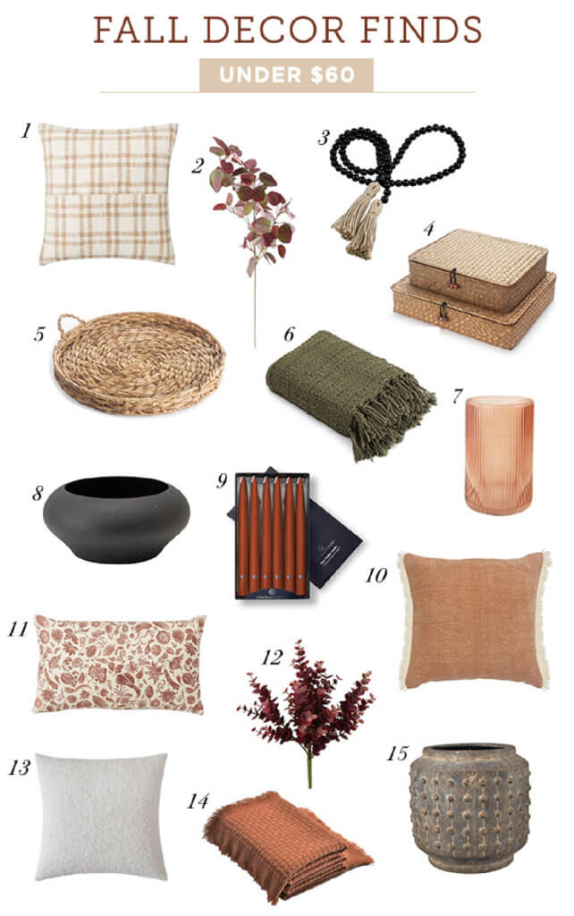 Decor finds to decorate with in stores