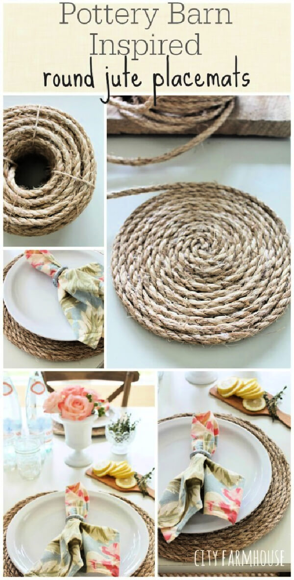 10 Ways To Decorate With Jute Or Rope
