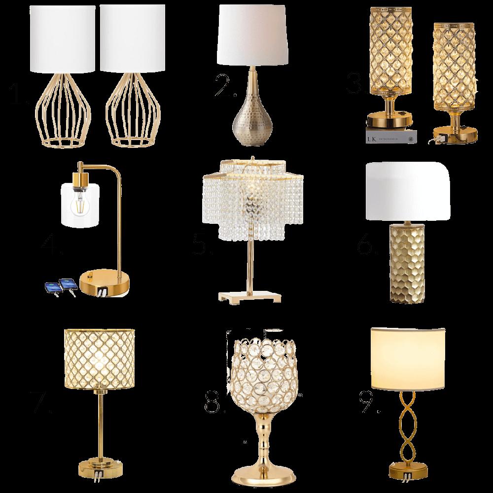 Favorite Gold Lamps Under $50