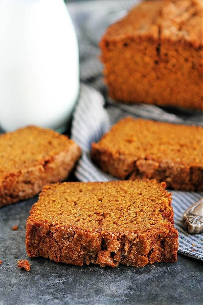 Recipe for Pumpkin Bread by blogger Two Peas & Their Pod