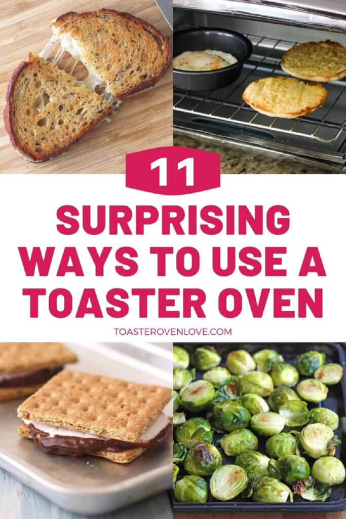 A blog pose on 11 new ways to use a toaster oven in new and notable mentions #7