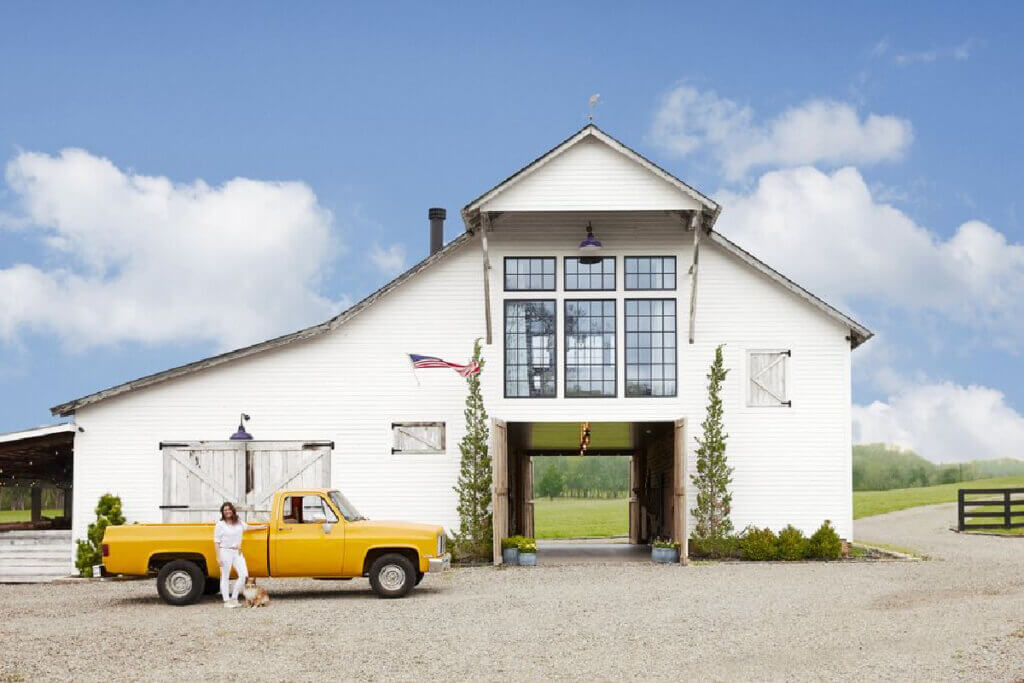 Barn hayloft turned into a home in Tennessee