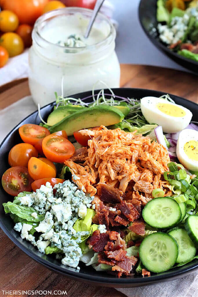 The Rising Spoon has a recipe for Buffalo Chicken Cobb Salad in new and notable mentions #7