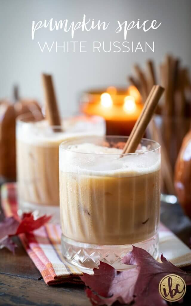 Pumpkin spice white Russian recipe by Inspired by Charm