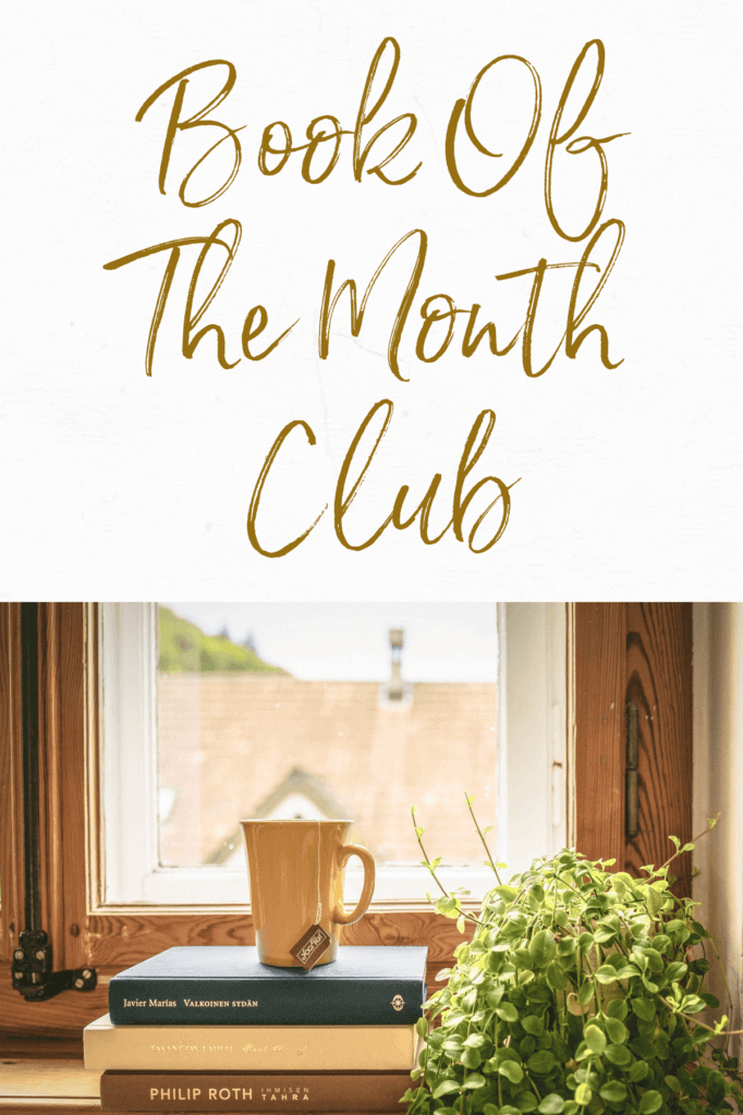 Book of the month logo graphic